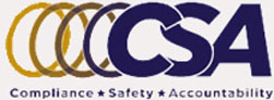 Logo for Compliance, Safety, & Accountability