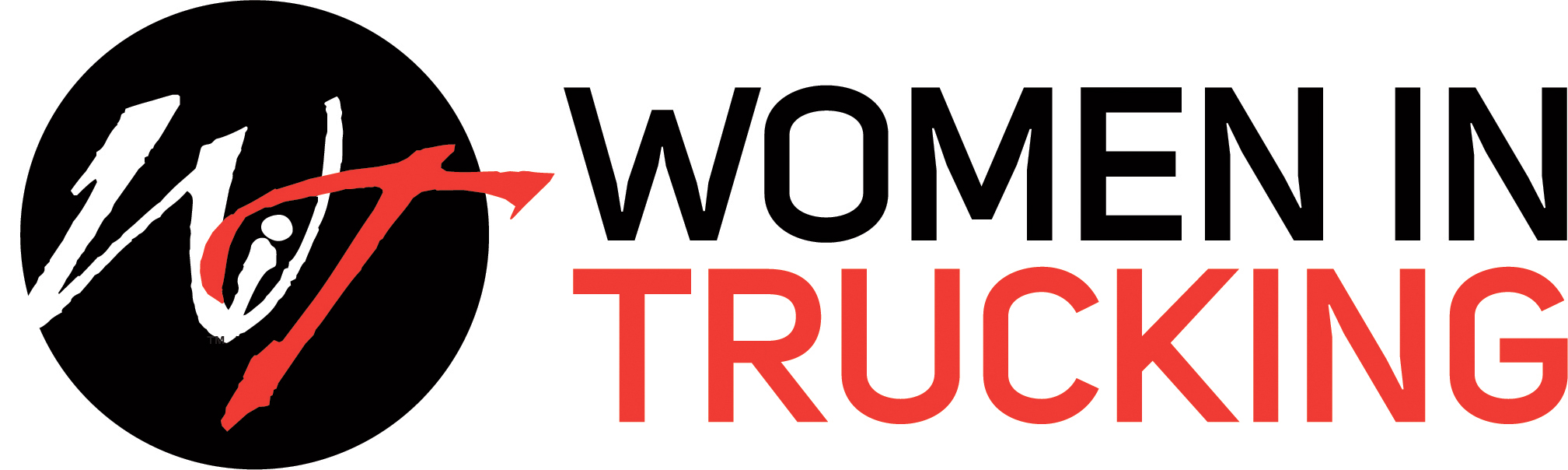 Logo for Women in Trucking
